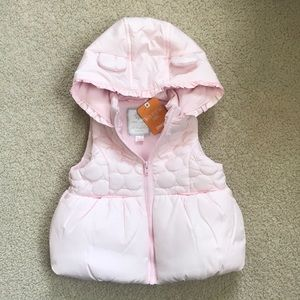 NWT Gymboree Hooded Vest